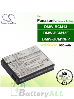 CS-BCM13MC For Panasonic Camera Battery Model DMW-BCM13 / DMW-BCM13E / DMW-BCM13PP