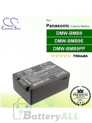 CS-BMB9MC For Panasonic Camera Battery Model DMW-BMB9 / DMW-BMB9E