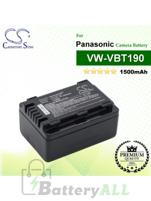CS-HCV210MC For Panasonic Camera Battery Model VW-VBT190