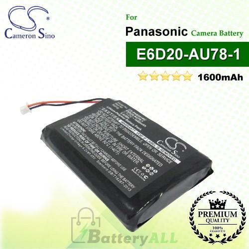 CS-PAB001MC For Panasonic Camera Battery Model E6D20-AU78-1