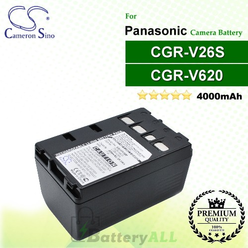 CS-PDV620 For Panasonic Camera Battery Model CGR-V26S / CGR-V620