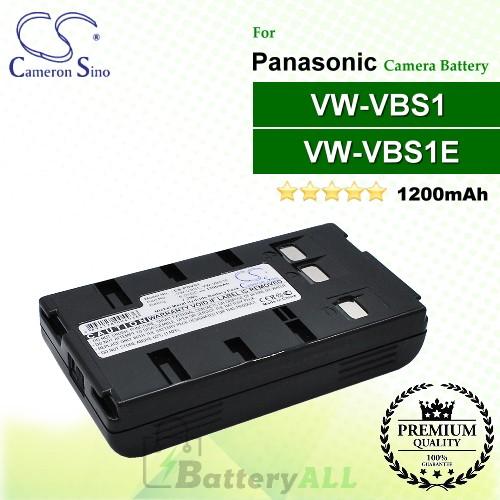 CS-PDVS1 For Panasonic Camera Battery Model VW-VBS1 / VW-VBS1E