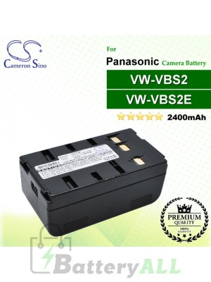 CS-PDVS2 For Panasonic Camera Battery Model VW-VBS2 / VW-VBS2E
