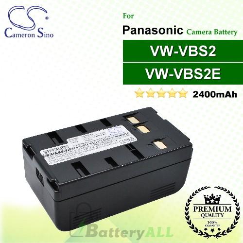 CS-PDVS2 For Panasonic Camera Battery Model VW-VBS2 / VW-VBS2E