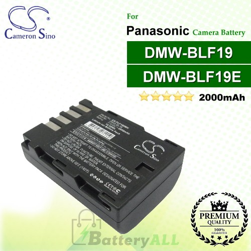 CS-PLF190MH For Panasonic Camera Battery Model DMW-BLF19 / DMW-BLF19E / DMW-BLF19PP