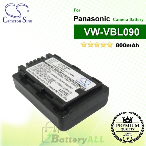 CS-VBL090MC For Panasonic Camera Battery Model VW-VBL090