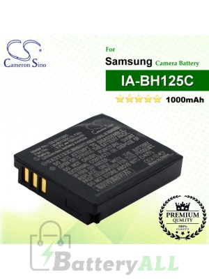 CS-BH125C For Samsung Camera Battery Model IA-BH125C