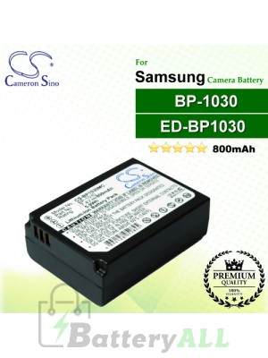 CS-BP1030MC For Samsung Camera Battery Model BP-1030 / ED-BP1030