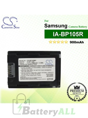 CS-BP105MC For Samsung Camera Battery Model IA-BP105R