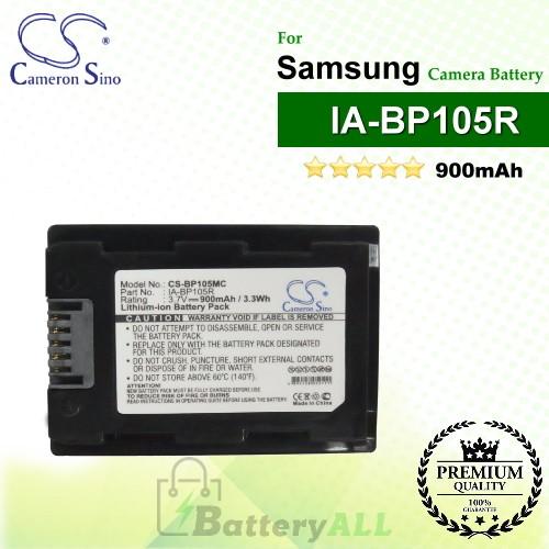 CS-BP105MC For Samsung Camera Battery Model IA-BP105R