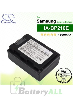 CS-BP120E For Samsung Camera Battery Model IA-BP210E