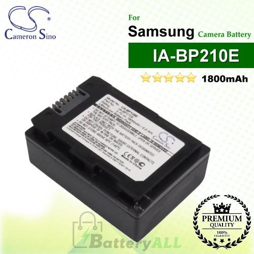 CS-BP120E For Samsung Camera Battery Model IA-BP210E