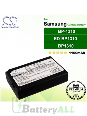 CS-BP1310 For Samsung Camera Battery Model BP1310 / BP-1310 / ED-BP1310