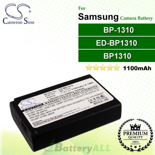 CS-BP1310 For Samsung Camera Battery Model BP1310 / BP-1310 / ED-BP1310