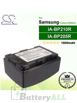 CS-BP210MC For Samsung Camera Battery Model IA-BP210R