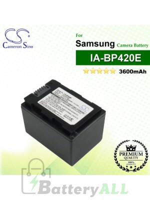 CS-BP420E For Samsung Camera Battery Model IA-BP420E