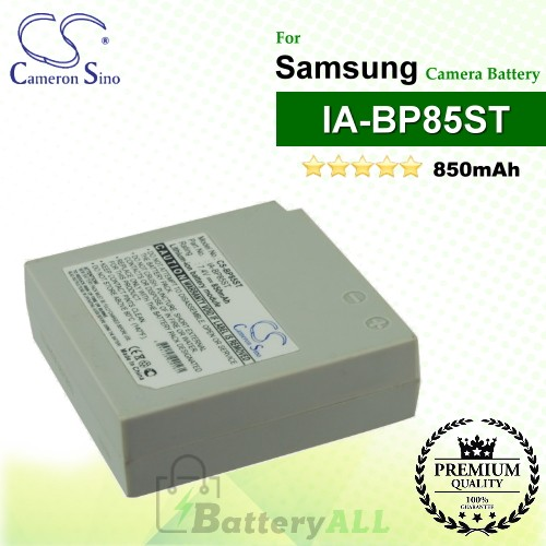 CS-BP85ST For Samsung Camera Battery Model IA-BP85ST