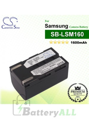 CS-LSM160 For Samsung Camera Battery Model SB-LSM160