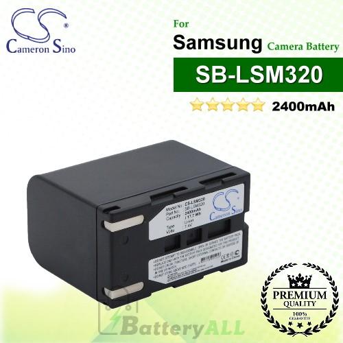 CS-LSM320 For Samsung Camera Battery Model SB-LSM320