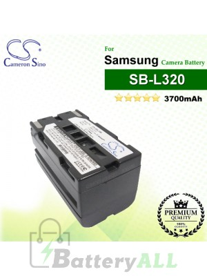 CS-SBL320 For Samsung Camera Battery Model SB-L110A / SB-L160 / SB-L320