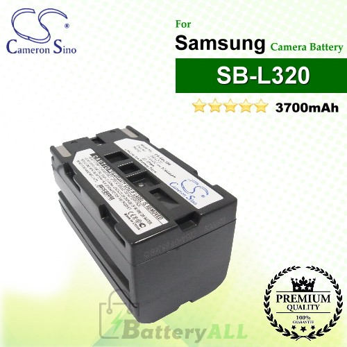 CS-SBL320 For Samsung Camera Battery Model SB-L110A / SB-L160 / SB-L320