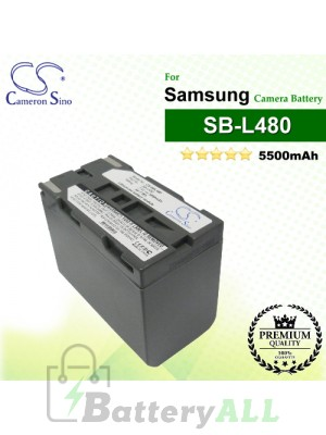 CS-SBL480 For Samsung Camera Battery Model SB-L480