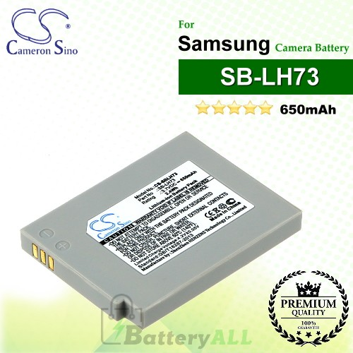 CS-SBLH73 For Samsung Camera Battery Model SB-LH73