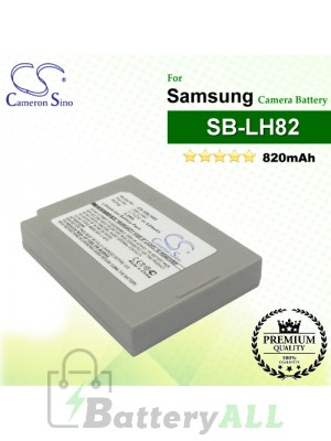 CS-SBLH82 For Samsung Camera Battery Model SB-LH82