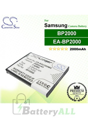 CS-SGC200MX For Samsung Camera Battery Model BP2000 / EA-BP2000