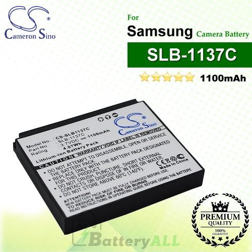 CS-SLB1137C For Samsung Camera Battery Model SLB-1137C