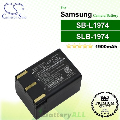 CS-SLB1974 For Samsung Camera Battery Model SB-L1974 / SLB-1974