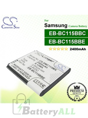 CS-SMC115MX For Samsung Camera Battery Model EB-BC115BBC / EB-BC115BBE