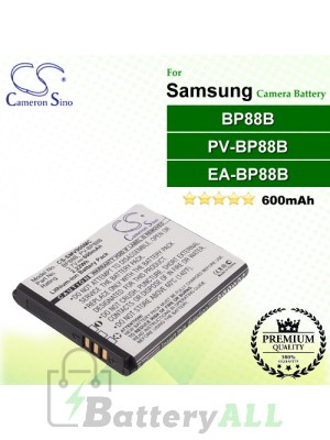 CS-SMV900MC For Samsung Camera Battery Model BP88B / EA-BP88B / PV-BP88B