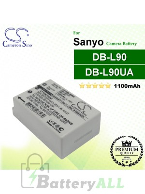 CS-DBL90MC For Sanyo Camera Battery Model DB-L90 / DB-L90UA