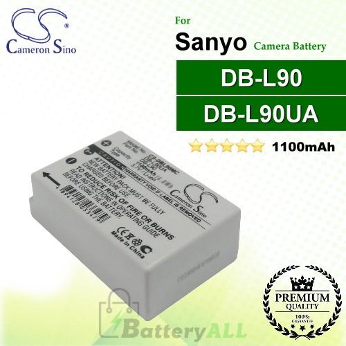 CS-DBL90MC For Sanyo Camera Battery Model DB-L90 / DB-L90UA