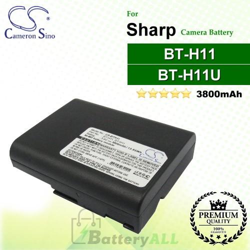 CS-BTH11 For Sharp Camera Battery Model BT-H11 / BT-H11U