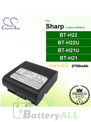 CS-BTH22 For Sharp Camera Battery Model BT-H21 / BT-H21U / BT-H22 / BT-H22U