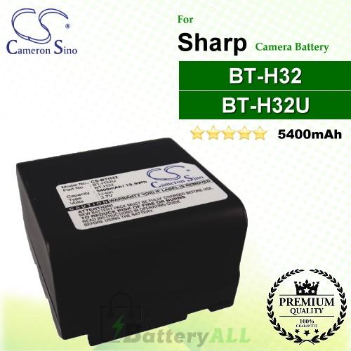 VL-SE50U Premium Battery for Sharp VL-E630H VL-AH131 NEW VL-E665U VL-E760U