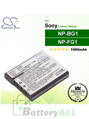 CS-BG1 For Sony Camera Battery Model NP-BG1 / NP-FG1