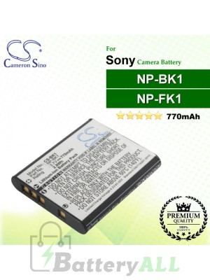 CS-BK1 For Sony Camera Battery Model NP-BK1 / NP-FK1