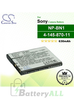CS-BN1 For Sony Camera Battery Model NP-BN / NP-BN1