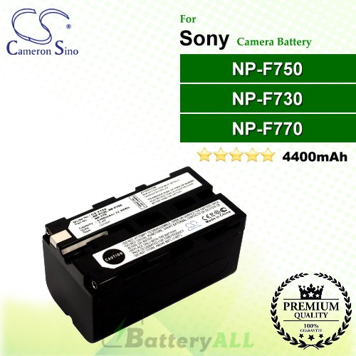 CS-F750 For Sony Camera Battery Model NP-F730 / NP-F750 / NP-F770