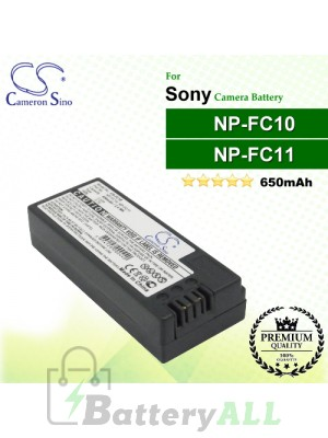 CS-FC10 For Sony Camera Battery Model NP-FC10 / NP-FC11
