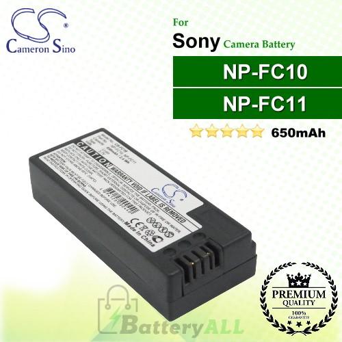 CS-FC10 For Sony Camera Battery Model NP-FC10 / NP-FC11