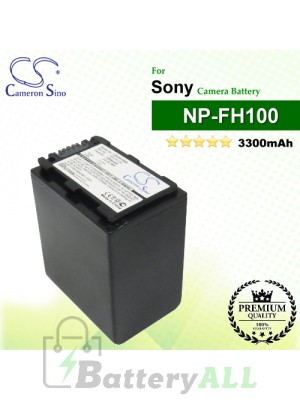 CS-FH100D For Sony Camera Battery Model NP-FH100