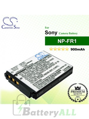 CS-FR1 For Sony Camera Battery Model NP-FR1