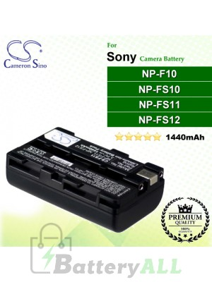 CS-FS11 For Sony Camera Battery Model NP-F10 / NP-FS10 / NP-FS11 / NP-FS12
