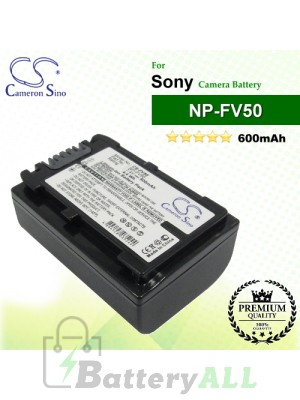 CS-FV50 For Sony Camera Battery Model NP-FV50