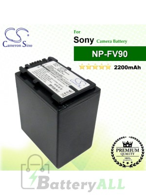 CS-FV90 For Sony Camera Battery Model NP-FV90