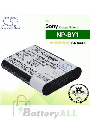 CS-SAZ100MC For Sony Camera Battery Model NP-BY1